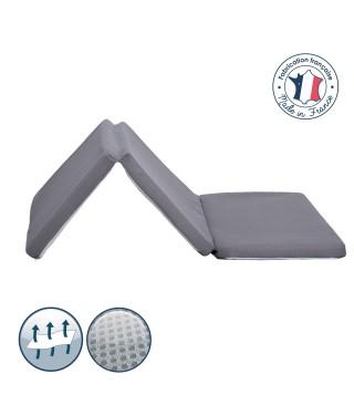 Air+ Folding travel mattress 60x120 Grey