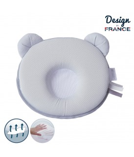 Air+ P'tit Panda pillow Grey