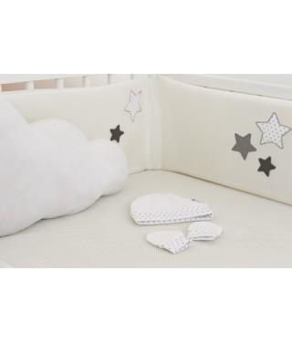 Newborn hat & mittens Stars