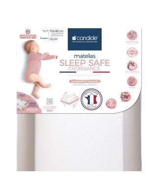 Sleep safe mattress for bed 70x140cm