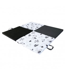 Playmat Black / white