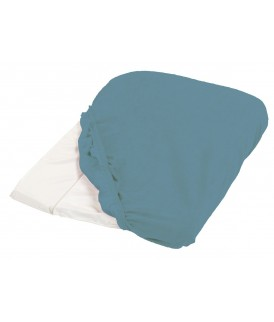 Changing mattress cover 50x75 cm Peacock blue