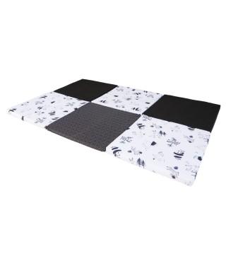 Tapis de motricité XL Noir & Blanc