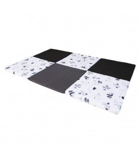 Playmat XL Black / white