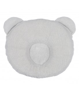 P'tit Panda pillow 21x19cm Grey
